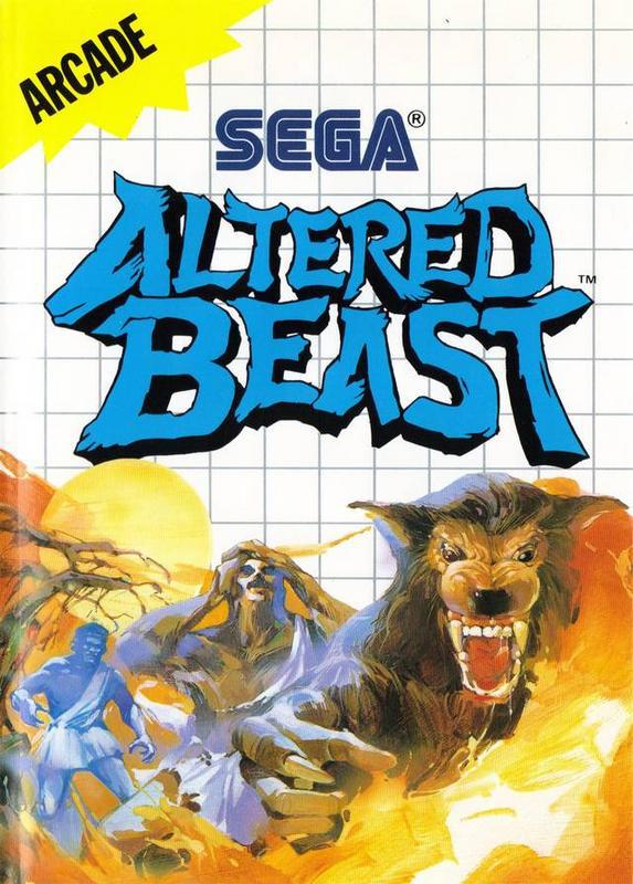 Altered Beast - Sega Master System
