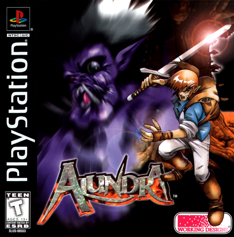 Alundra - PlayStation 1