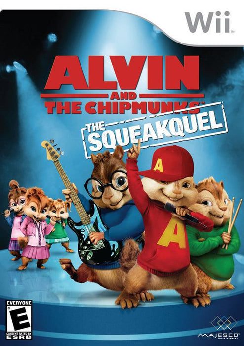 Alvin and the Chipmunks The Squeakquel - Wii