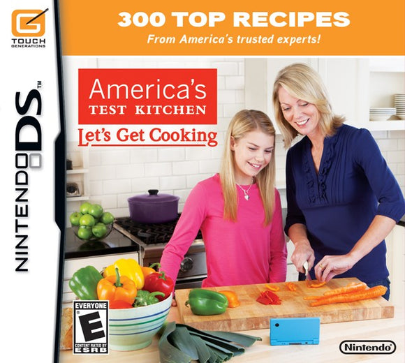 Americas Test Kitchen Lets Get Cooking