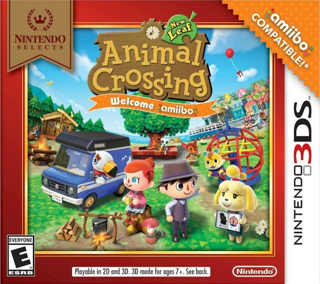 Animal Crossing New Leaf - Welcome Amiibo - Nintendo 3DS