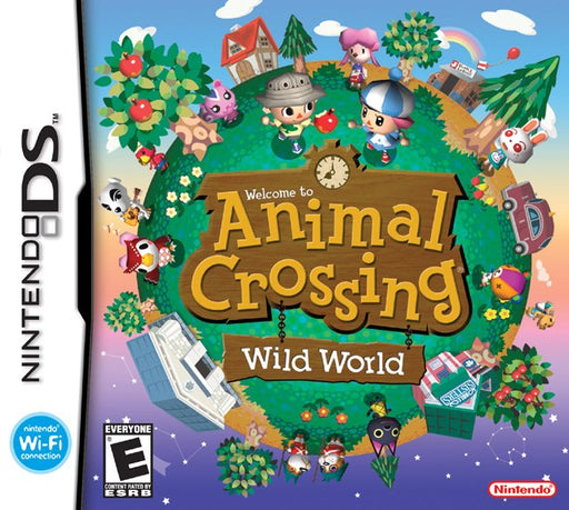 Animal Crossing Wild World - Nintendo DS