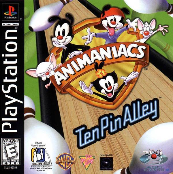 Animaniacs Ten Pin Alley - PlayStation 1