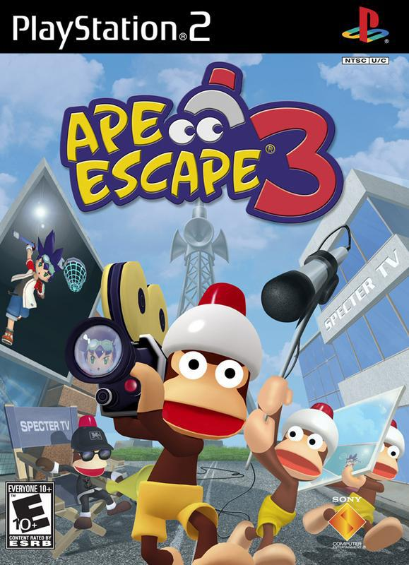 Ape Escape 3 - PlayStation 2