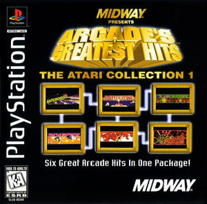 Arcades Greatest Hits The Atari Collection 1