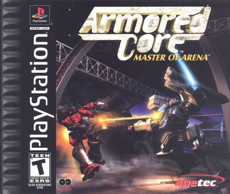 Armored Core Master of Arena - PlayStation 1