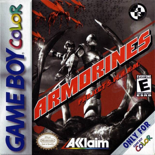 Armorines Project S.W.A.R.M. - Game Boy Color