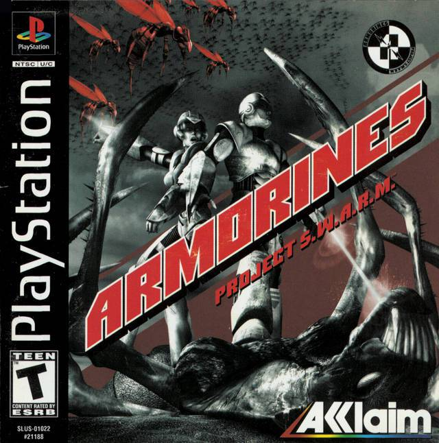 Armorines Project S.W.A.R.M. - PlayStation 1