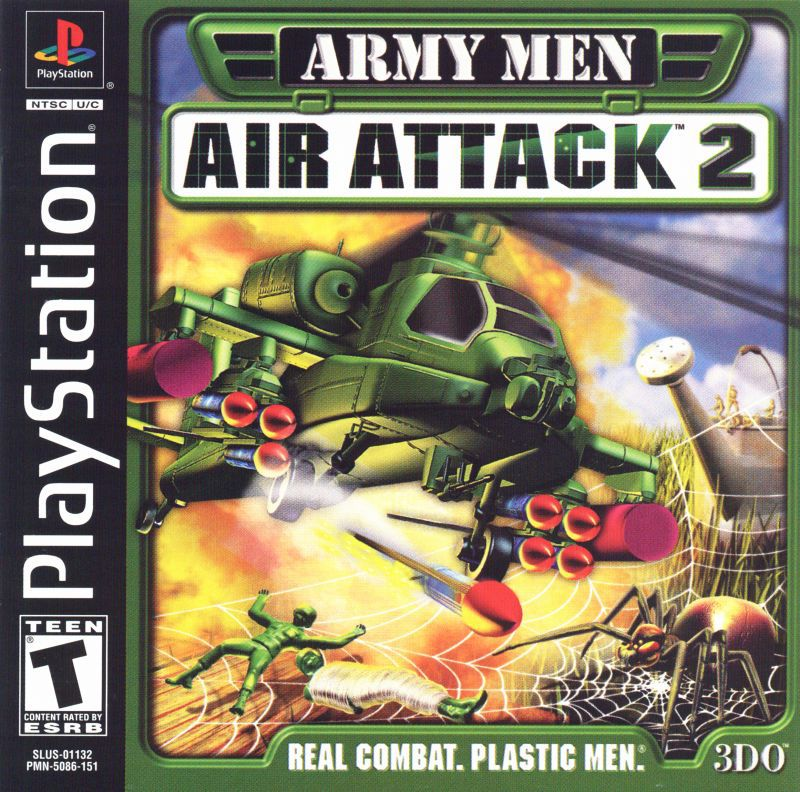 Army Men Air Attack 2 - PlayStation 1