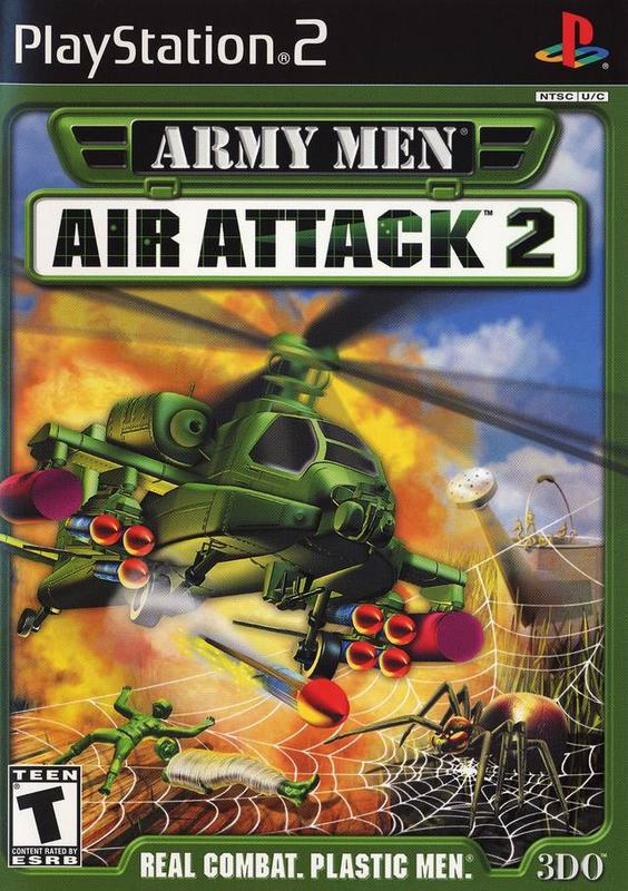 Army Men Air Attack 2 - PlayStation 2