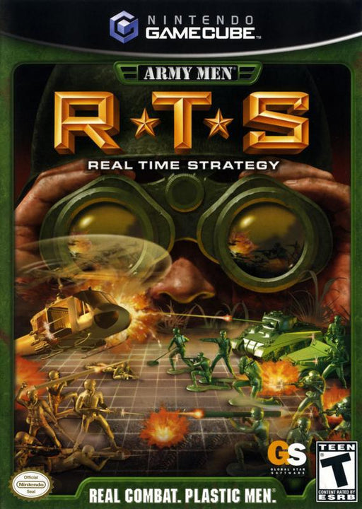 Army Men RTS Real Time Strategy - Gamecube