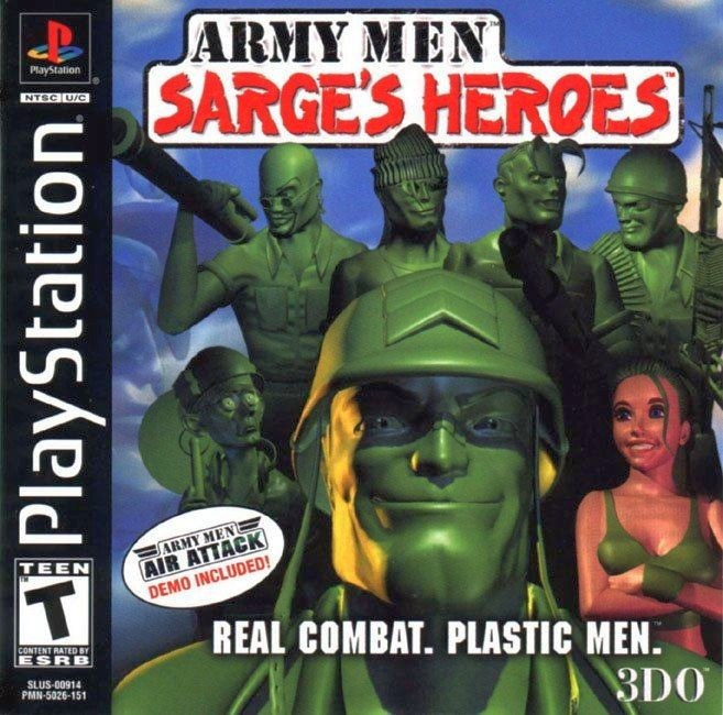 Army Men Sarges Heroes - PlayStation 1