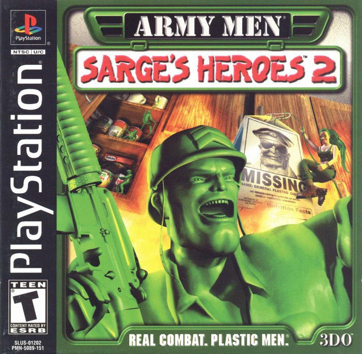 Army Men Sarges Heroes 2 - PlayStation 1