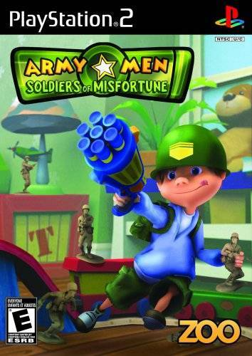 Army Men Soldiers of Misfortune - PlayStation 2