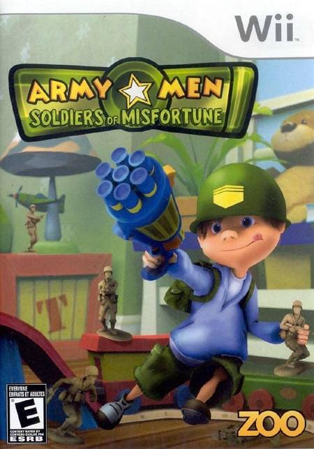 Army Men Soldiers of Misfortune - Wii