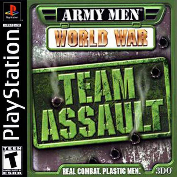 Army Men World War Team Assault - PlayStation 1