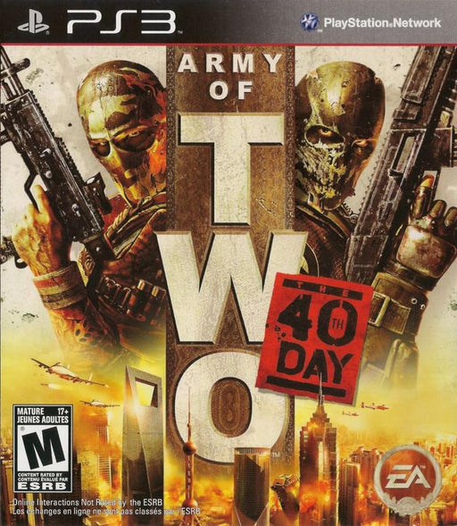 Army of Two The 40th Day - PlayStation 3