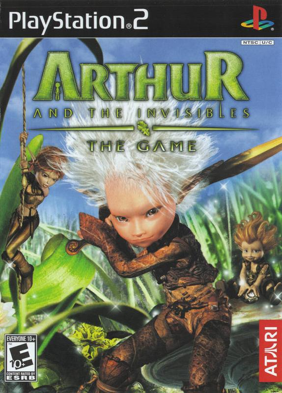 Arthur and the Invisibles - PlayStation 2