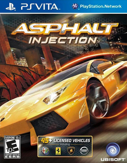 Asphalt Injection - PlayStation Vita