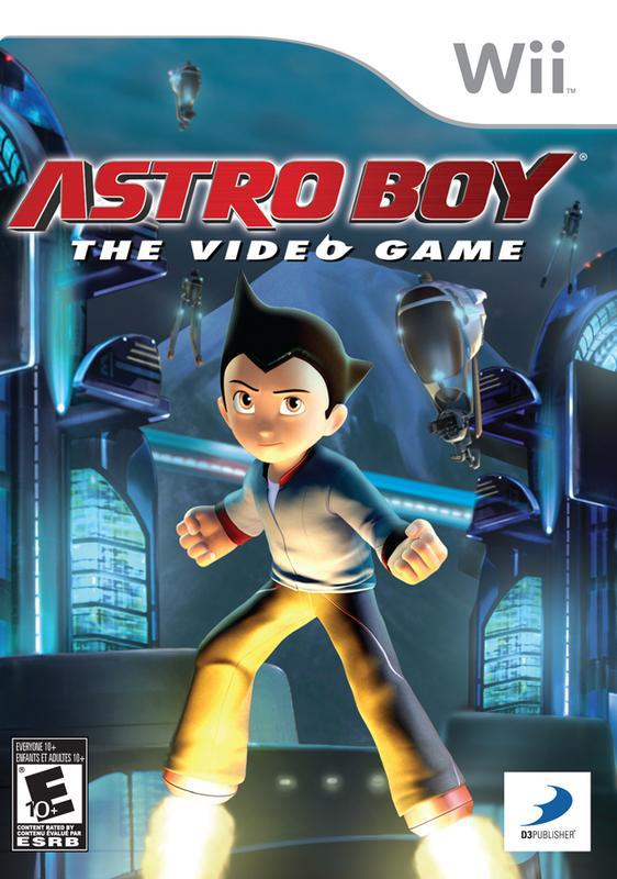 Astro Boy The Video Game - Wii