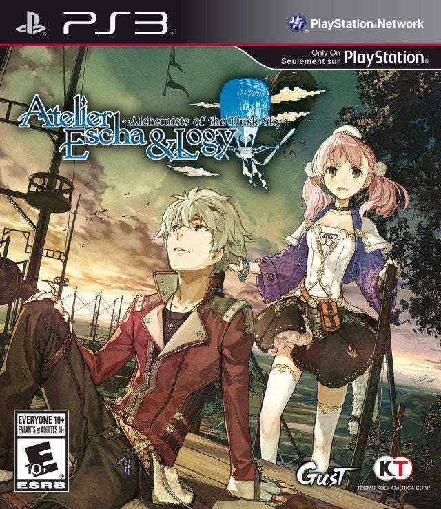 Atelier Escha & Logy Alchemists of the Dusk Sky - PlayStation 3