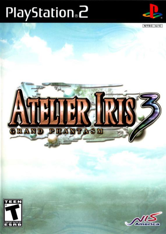 Atelier Iris 3 Grand Phantasm - PlayStation 2
