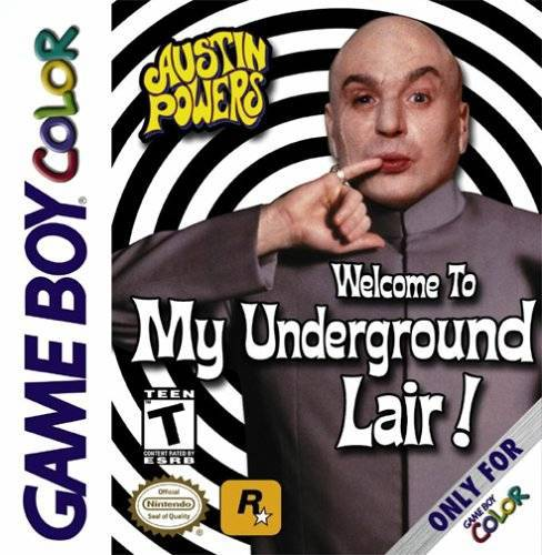 Austin Powers Welcome to my Underground Lair! - Game Boy Color