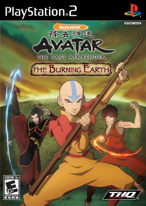 Avatar The Last Airbender – The Burning Earth - PlayStation 2