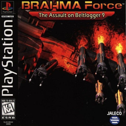 BRAHMA Force The Assault on Beltlogger 9