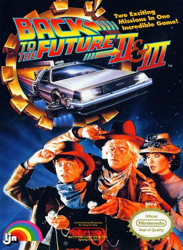 Back to the Future II & III - Nintendo Entertainment System