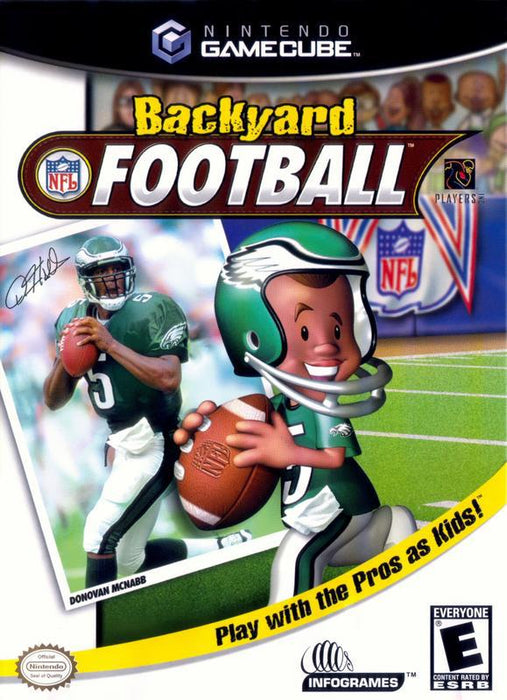 Backyard Football - Gamecube