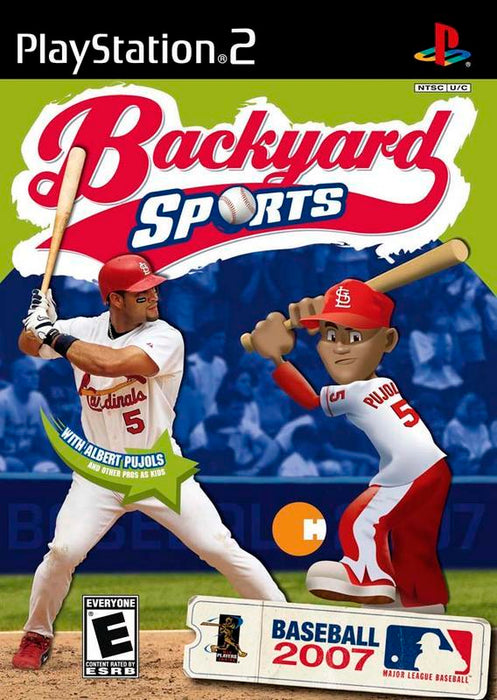 Backyard Sports Baseball 2007 - PlayStation 2