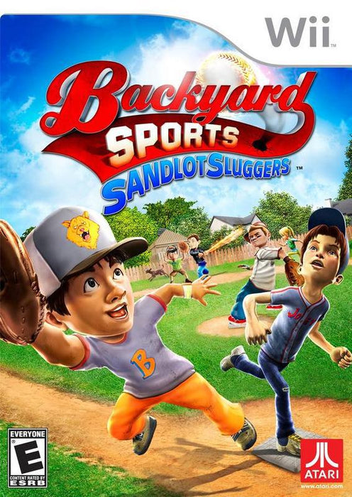 Backyard Sports Sandlot Sluggers - Wii