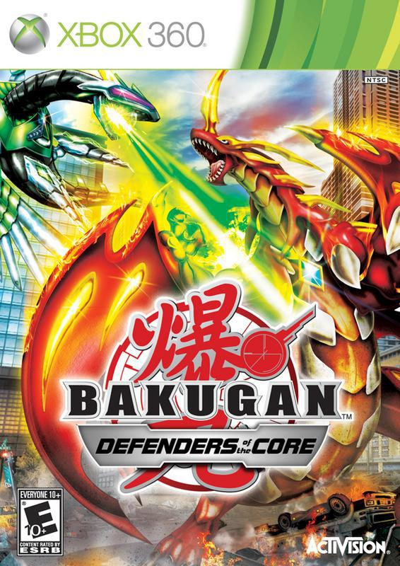 Bakugan Defenders of the Core - Xbox 360