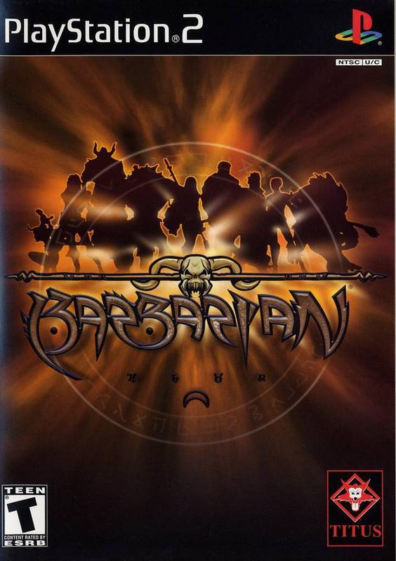 Barbarian - PlayStation 2