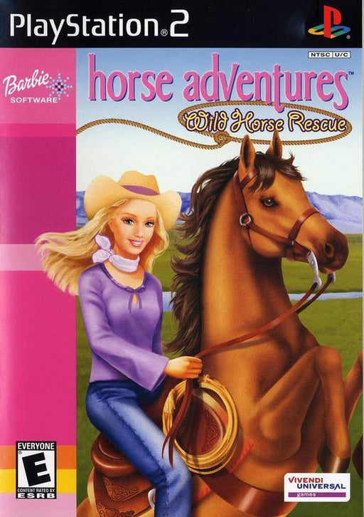 Barbie Horse Adventures Wild Horse Rescue - PlayStation 2