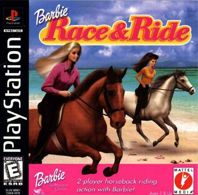 Barbie Race & Ride - PlayStation 1