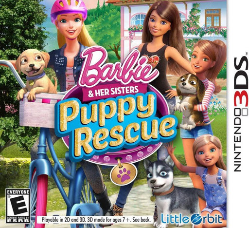 Barbie and Her Sisters Puppy Rescue - Nintendo 3DS
