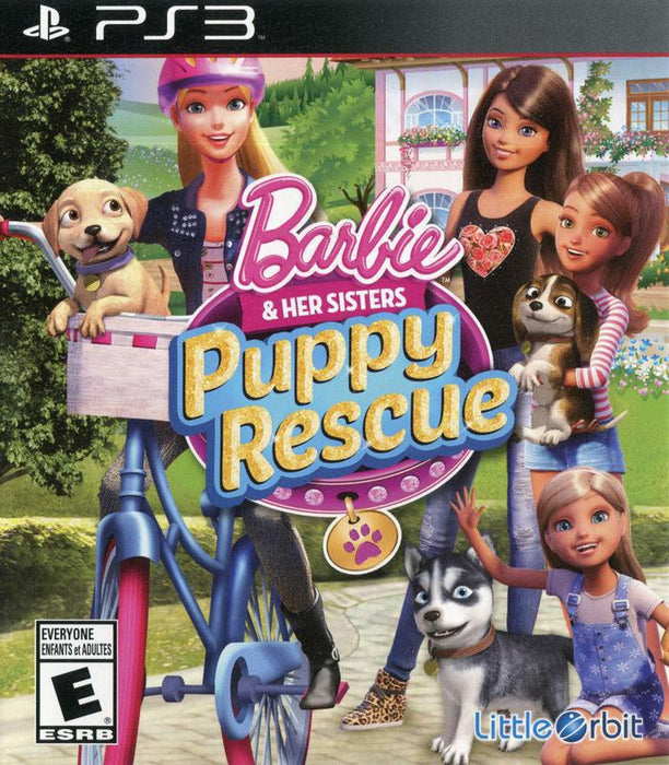 Barbie and Her Sisters Puppy Rescue - PlayStation 3