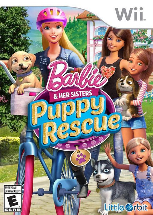 Barbie and Her Sisters Puppy Rescue - Wii
