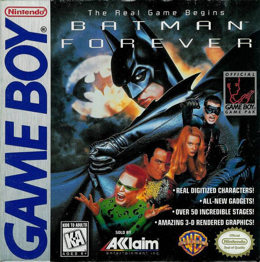 Batman Forever - Game Boy