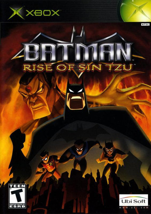 Batman Rise of Sin Tzu - Xbox