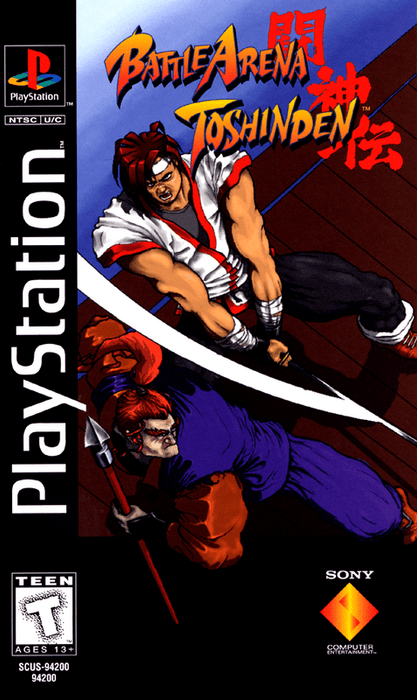 Battle Arena Toshinden - PlayStation 1