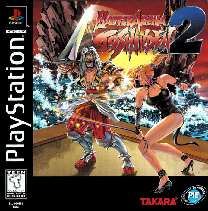 Battle Arena Toshinden 2 - PlayStation 1