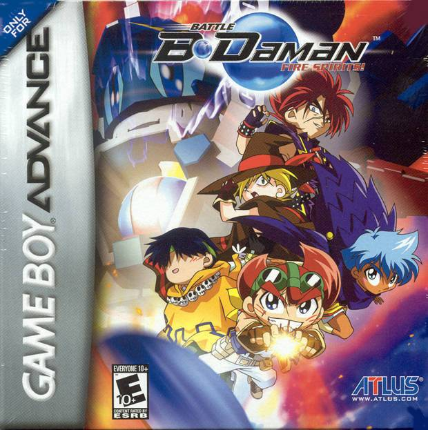 Battle B-Daman Fire Spirits! - Game Boy Advance