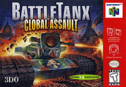 BattleTanx Global Assault - Nintendo 64
