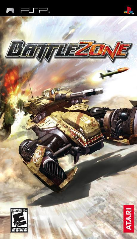 BattleZone - PlayStation Portable