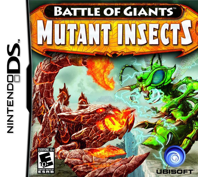 Battle of Giants Mutant Insects - Nintendo DS