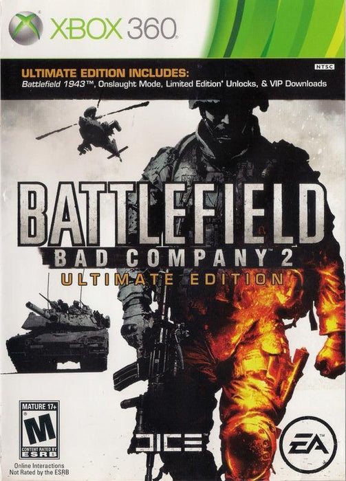 Battlefield Bad Company 2 Ultimate Edition - Xbox 360