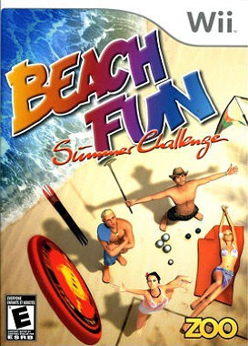 Beach Fun Summer Challenge - Wii